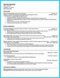 Example Resume College Student 10 How To Write A Resume College Student Resume Samples