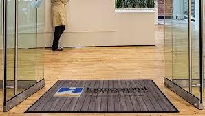personalized front door matsDoor Mat With Your Business Logo Custom Door Mat Rustic Look For