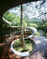 Japanese Landscape Architecture Shell Artechnic Architects Shell Architects And Architecture