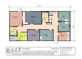 office room plan. Room Plan Drawing Medical Exam And Nursing Station Business Office Floor Hotel Layout .