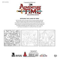 amazon adventure time coloring book volume 1 9781506708003 cartoon network books