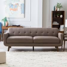 mid century modern loveseat. Belham Living Carter Sofa Mid Century Modern Loveseat