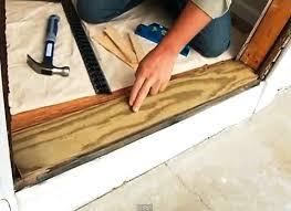 oak exterior door threshold. installing exterior doors with easy to follow instructions . oak door threshold i
