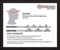 Average Head Size Chart Size Charts 187 Killer Pads