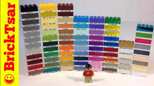 Lego Brick Colour Chart Bat Lego Color Chart Question By Brickbiters