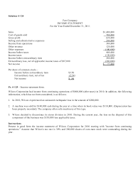 income statement in good form chapter 4