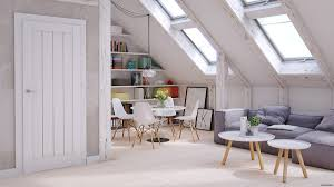 Sloped Ceiling Living Room 4 Stylish Homes With Slanted Ceilings