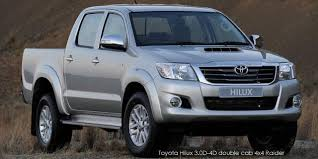 Toyota Hilux 3.0D-4D double cab 4x4 Raider Specs in South Africa ...
