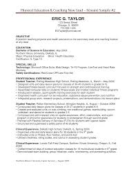 Resume Templates Cheerleading Coach