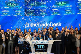 the ad tech company the trade desk went public on sept 21