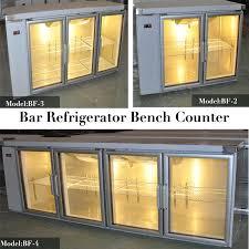 china under counter bar fridge of 3