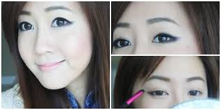 natural makeup mata sipit ala korea eyeliner tutorial style k pop the soft for beginners cara