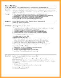 computer tech degree resume computer technician resume sample