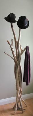 Furniture: DIY Standing Driftwood Coat Rack - Branches Racks