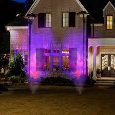 halloween outdoor lighting. Gemmy Lightshow Projection Spot Light Fire And Ice (Purple Purple Orange) Halloween Decoration - Walmart.com Outdoor Lighting