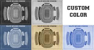 Seating Chart Bills Stadium Here Is A Amazing Blueprint Of Ralph Wilson Stadium Showing