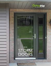 view or this full color catalog of our storm doors contains all styles colors hardware and glass options and screen choices