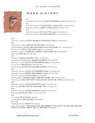 storyboard artist resume cipanewsletter r e s u m e jay baker storyboard art