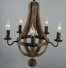 antique wood chandelier hand carved lighting