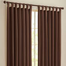 tab top curtains style
