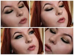 golden egyptian cat eye makeup tutorial