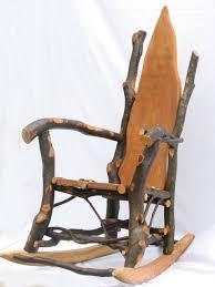 beech rocking chair