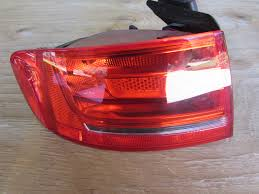 Left Brake Light Audi A4 Audi Oem A4 B8 Tail Light Brake Light Left 8k5945093e Sedan 2009 2010 2011