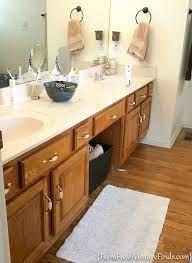 bathroom vanity transformation with diy