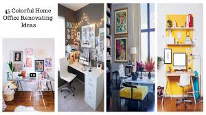 colorful home office. One Of The Absolute Most Important Things To Remember When Choosing Home Office Color Schemes Is General Feeling Room. Colorful