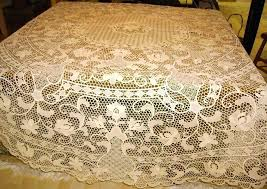 lace table cloth round needle lace tablecloth inches lace round tablecloths wedding