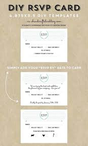 wedding rsvp postcards templates rsvp card template word