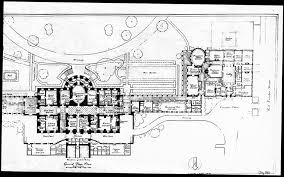 oval office floor plan. 1943 Press Room Floor Plan White House Historical Association Oval Office N