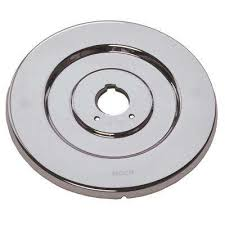 dia escutcheon for single handle tub and shower valves in chrome