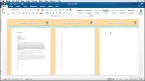 Microsoft Office Letterheads Add A Continuation Page To The Word Letterhead