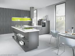 Grey And White Kitchen Grey And White Kitchen Ideas With Green Cabinet And Round Chairs