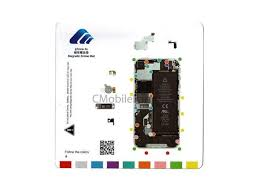 Iphone Screw Chart Iphone 4s 4gs Magnetic Screw Chart Mat Repair Guide Pad