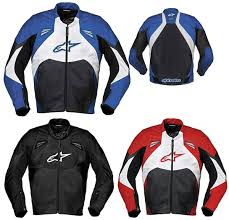 alpinestars smk leather jacket