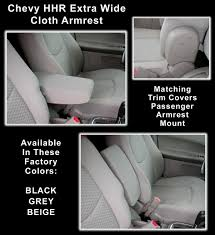 chevy hhr wide armrest