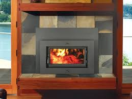 full image for wood stove inserts for prefab fireplaces stove inserts for fireplace ireland flush wood