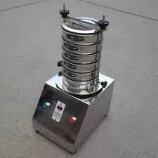 Sieve Set With Sieve Shaker For Sieve Analysis Or Particle