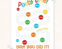 3 Printable Potty Sticker Chart Printable Potty Sticker