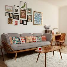 Retro Living Room Furniture Sets Living Room Cosy Retro Living Room Design With Nice Lighting And