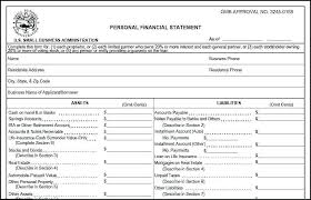 Personal Assets And Liabilities Statement Template Financial Personal Assets And Liabilities Statement Template Sbi