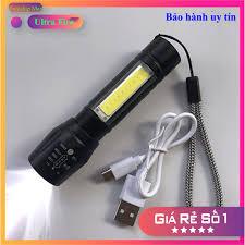 ⭐ Đèn pin cầm tay mini sạc pin USB Charge nhỏ gọn, tiện dụng ⭐ Freeship -  Đèn & Đèn Pin