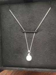 david yurman petite pearl necklace