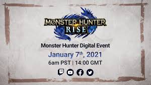 To help you out, we've put together a basic controls guide for monster hunter rise that'll have you zipping about with your wirebug in no time at all. Monster Hunter On Twitter Tune Into The Monster Hunter Digital Event January 2021 For Big News And Reveals On Monster Hunter Rise Mhrise Https T Co 8izgk7w1wf Https T Co N7hbcsawyv