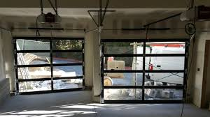Industrial Glass Garage Door For Unique Commercial Glass Garage