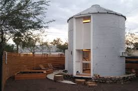 Attractive Grain Silo Converted Into A Square Foot Small House Plus Ing Grain  Silo Tiny House