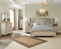 ASHLEY DEMARLOS PARCHMENT WHITE King Bedroom Set - Dream Rooms Furniture