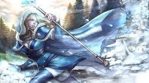 picture dota 2 crystal maiden magic mage staff fantasy games hood